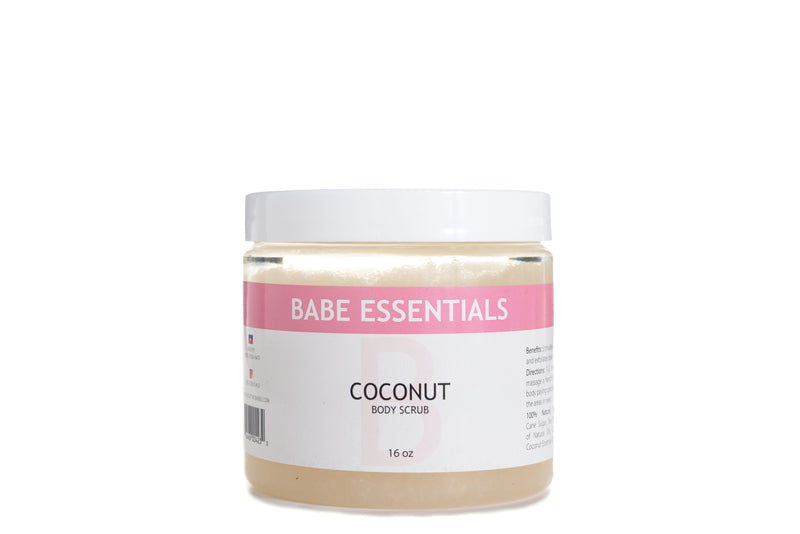 Babe Essentials - Coconut Body Scrub | Moisturizing Body Scrub