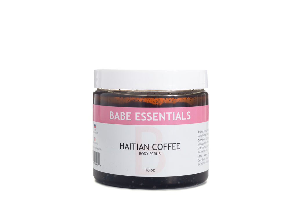 Babe Essentials - Haitian Coffee Body Scrub | Exfoliate & Moisturize