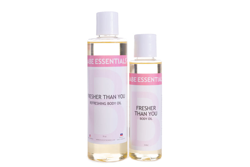 Babe Essentials - Fresher than you | Peppermint body oil