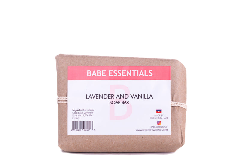 Babe Essentials - Lavender and Vanilla Soap Bar