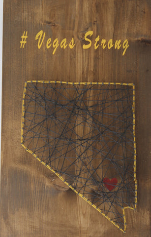 Vegas Strong String Art Project