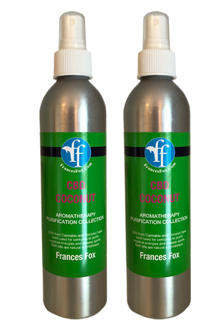 Aromaterapia de CBD y Coconut de Frances - 2 botellas