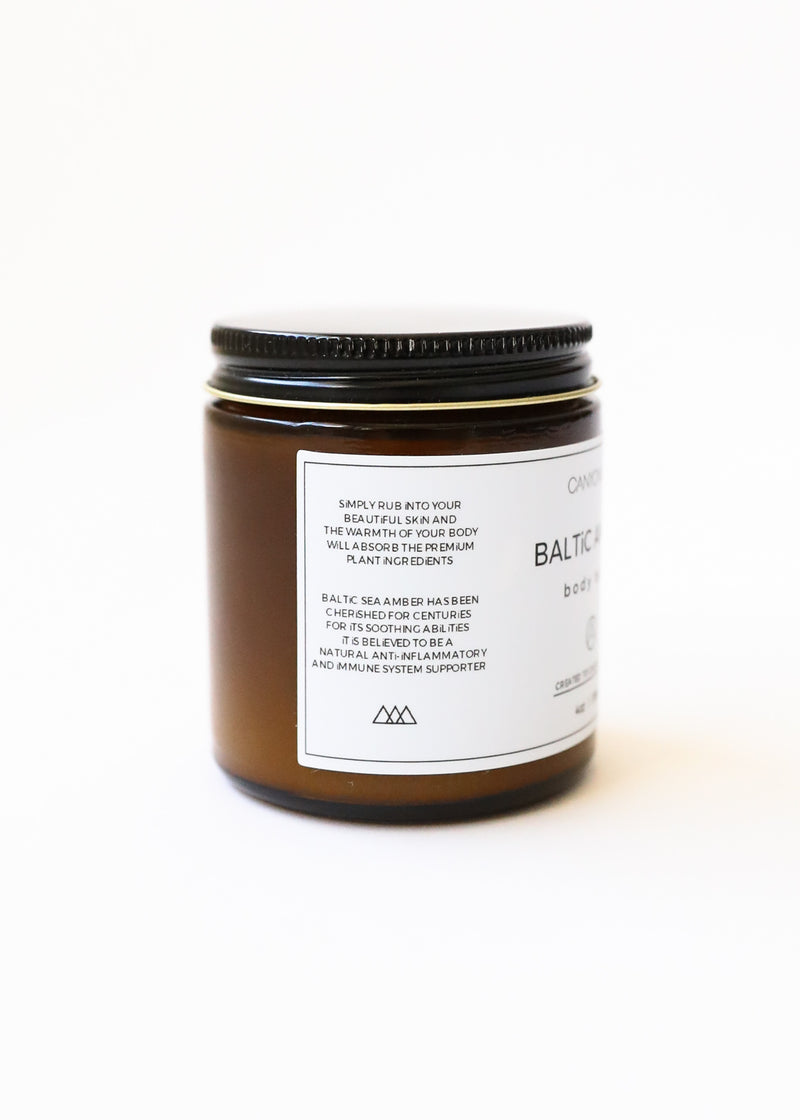 Baltic Amber Body Balm