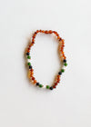 Raw Cognac Amber + Green Amazonite || Set