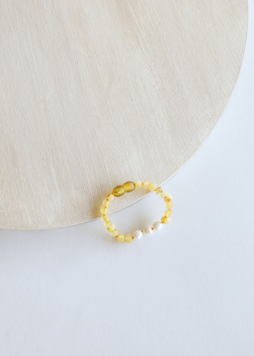 Raw Honey Amber + Pearls || Kids