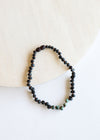 Raw Black Amber Necklace