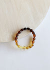 Polished Ombre Amber Bracelet || Adult