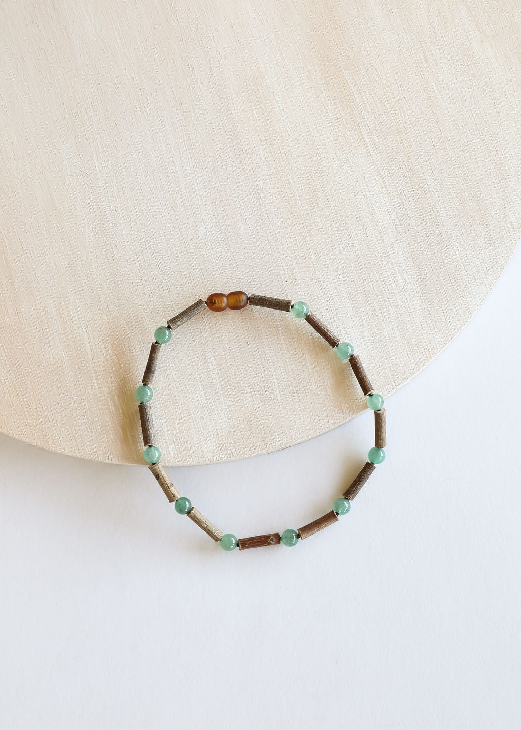 Hazelwood + Adventurine Necklace