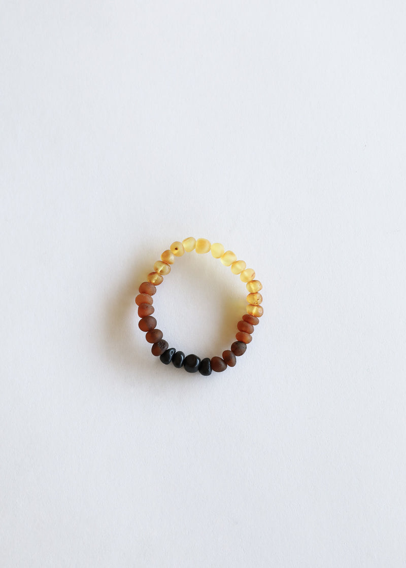 Raw Ombre Amber || Mommy & Me || Bracelets