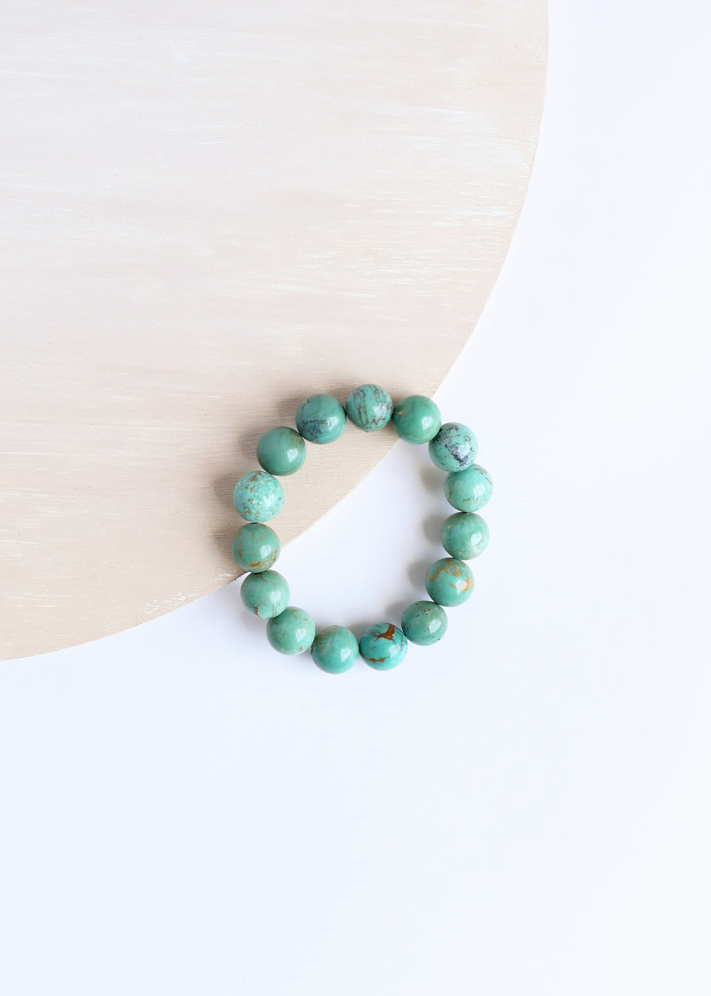 Natural Turquoise Statement Bracelet