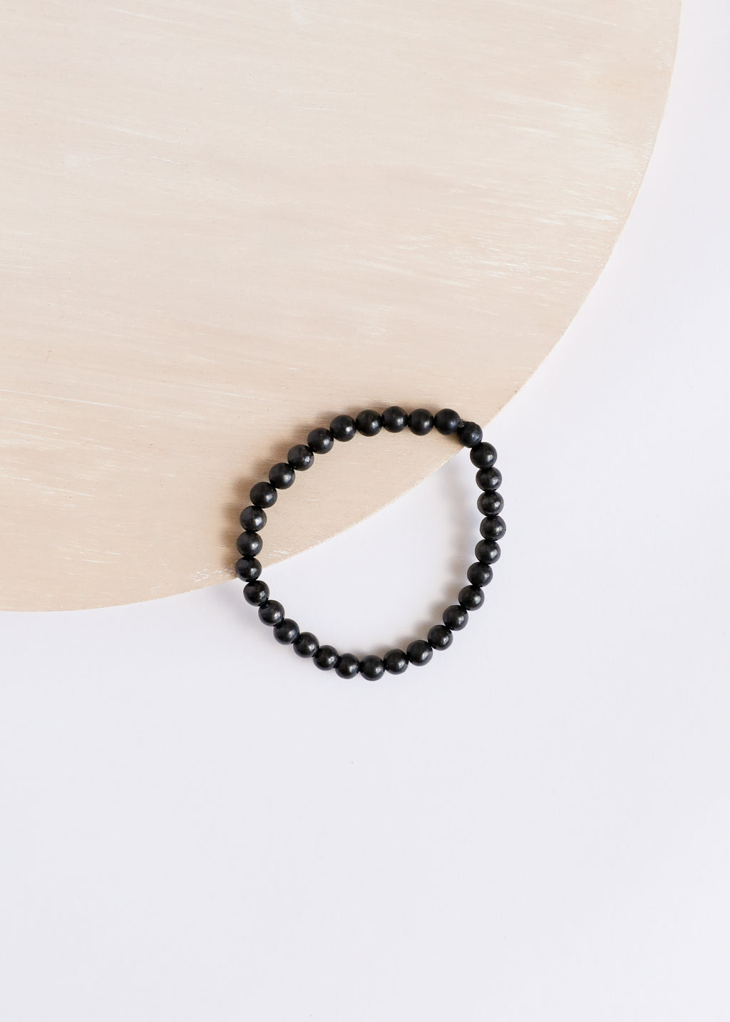 Raw Shungite || Adult Bracelet