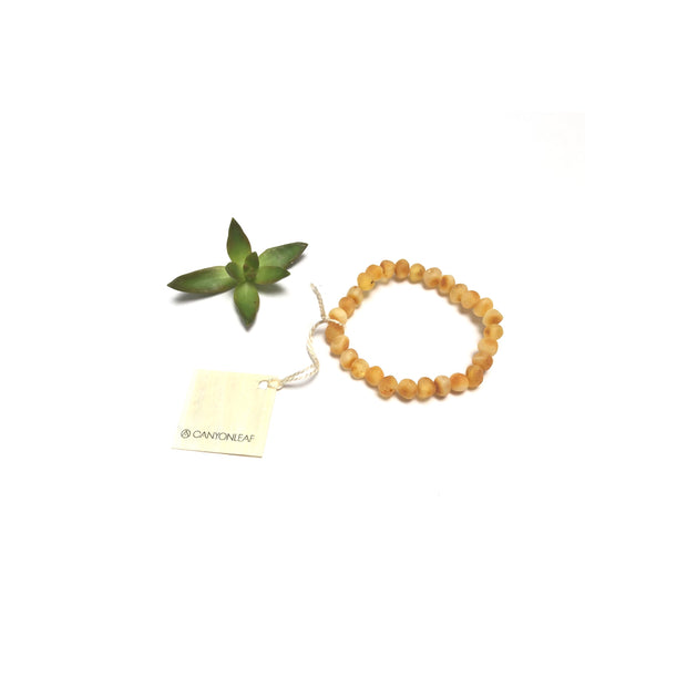 Raw Honey Amber || Adult Bracelet 1