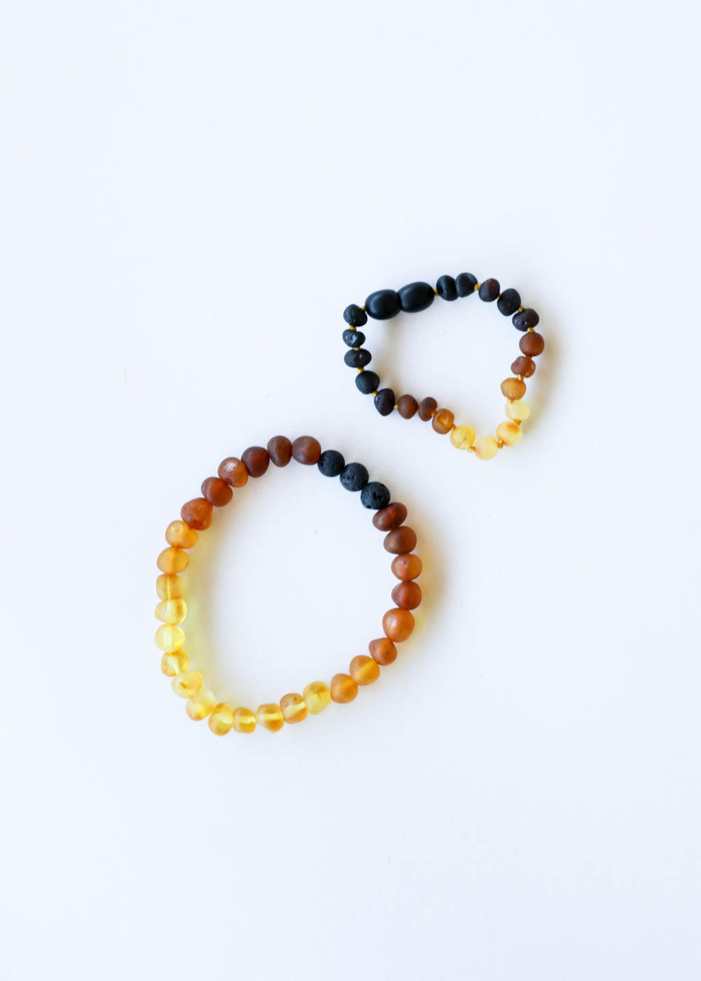 Raw Ombre Amber || Mommy & Me Bracelets
