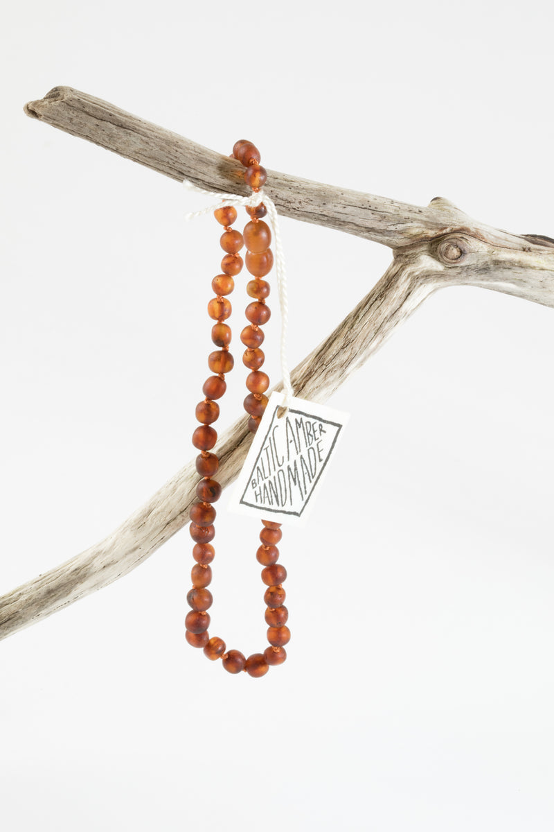 ADULT: Raw Baltic Amber Necklace