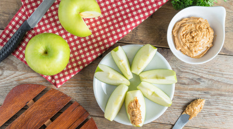 Autumnal Pumpkin Dip for Green Apples