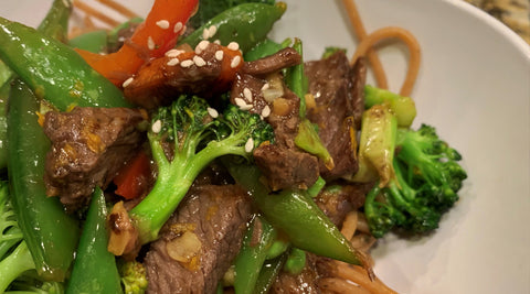 Beef & Pepper Stir Fry