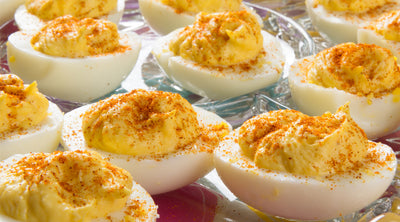 Tzatziki Deviled Eggs