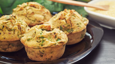 Fiesta Grilled Bacon-Corn Muffins