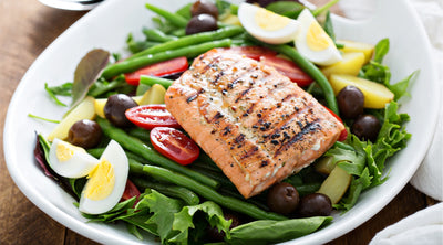 French Salmon Salad