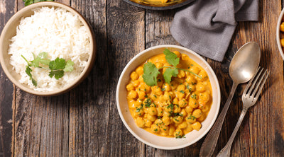 Garbanzo, Cauliflower & Coconut Curry
