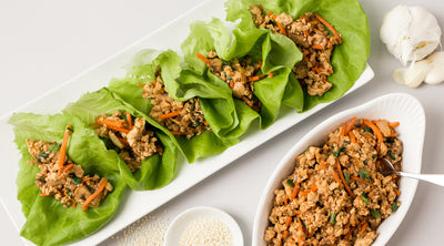 Ginger Asian Lettuce Wraps