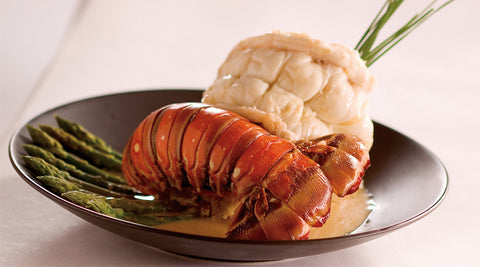 Spirits & Spice Champagne Beurre Blanc Lobster Tail