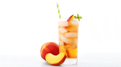 Peach Bourbon Shrub