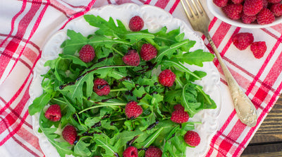 Raspberry & Rosemary Salad