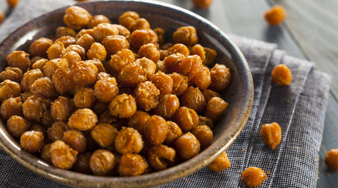 Salt & Vinegar Crispy Chickpeas