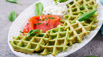 Spicy Savory Waffles
