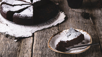 Spicy Chocolate Flourless Cake