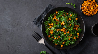Spicy Sautéed Kale and Chickpeas