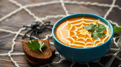 Frightfully Good Curried Acorn Squash Soup