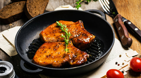 Star Anise Vanilla Balsamic Pork Chops