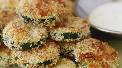 Zucchini Curry Crisps