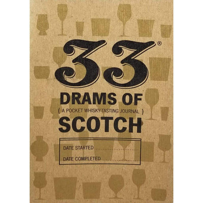 33 Drams of Scotch Pocket Journal