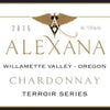 Alexana Terrir Selection Chardonnay label