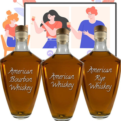 American Whiskey Online Tasting Party Kit