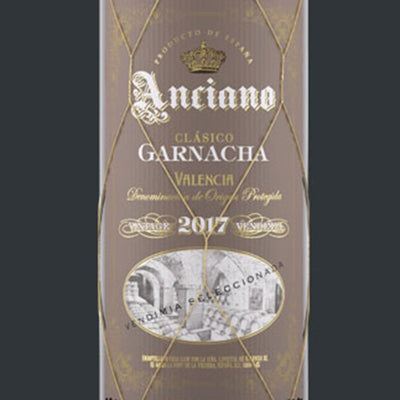 Anciano Garnacha label
