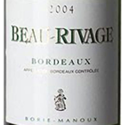 Beau Rivage Bordeaux Blanc label