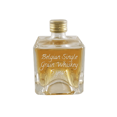 Belgian Single Grain Whiskey, 5 Years