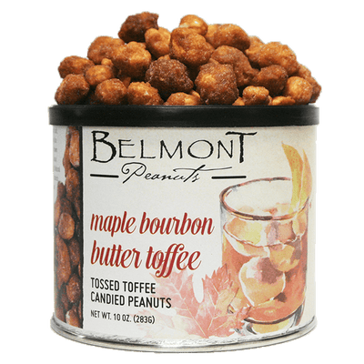 Maple Bourbon Butter Toffee Peanuts tin