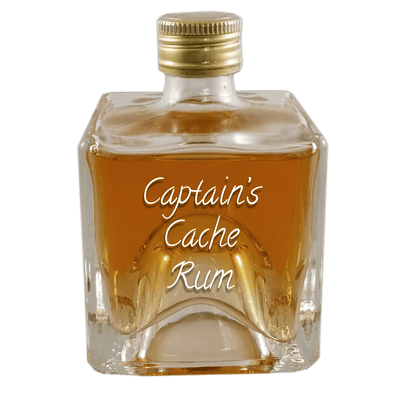 Captains Cache Rum 100 ml bottle