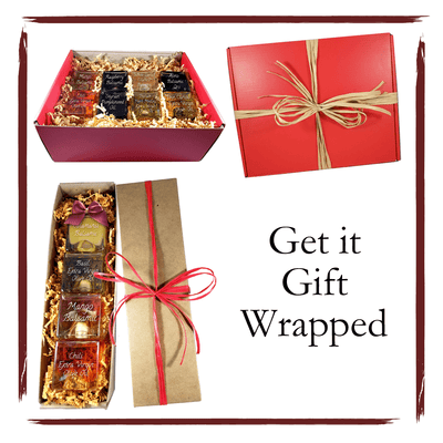 Gift wrapped set