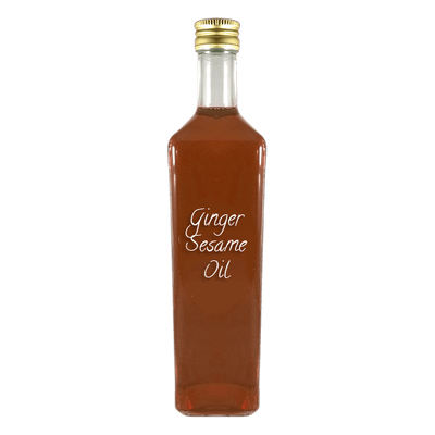 Ginger Sesame Oil large bottle