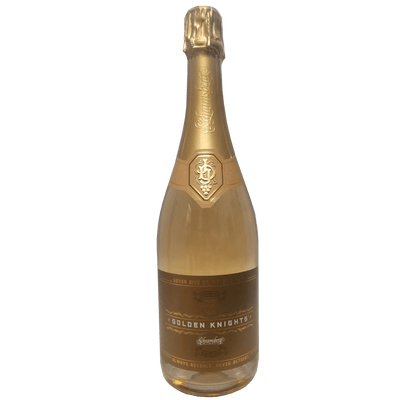 Vegas Golden Knights Blanc de Noirs Sparkling Wine bottle