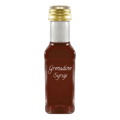 Grenadine syrup small bottle
