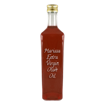 Harissa Extra Virgin Olive Oil large bottle