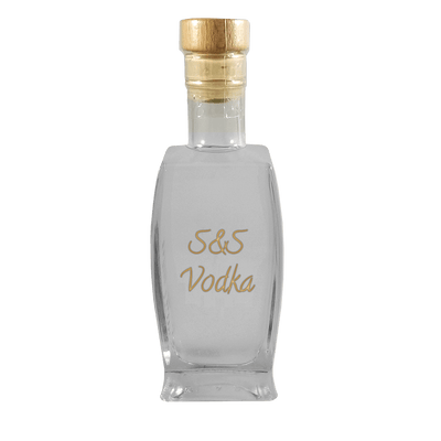 S&S Vodka 375 ml bottle
