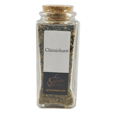 Chimichurri bottle